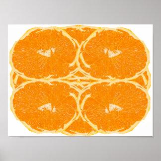 オレンジフルーツの精神の美学のファインアートポスター ポスター