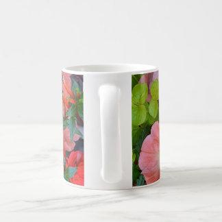 オレンジペチュニアの花 コーヒーマグカップ