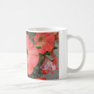 オレンジペチュニア コーヒーマグカップ
