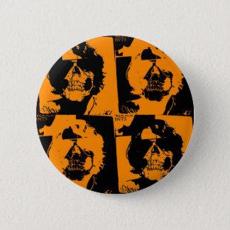 オレンジボタン 缶バッジ