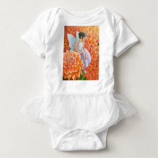 オレンジミイラの妖精 ベビーボディスーツ