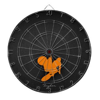 オレンジモトクロス ダーツボード