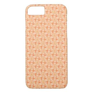 オレンジモモの花のデザイン- iPhone 7の場合 iPhone 8/7ケース