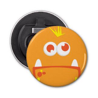 オレンジモンスターの顔の栓抜き 栓抜き