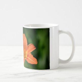 オレンジユリ コーヒーマグカップ