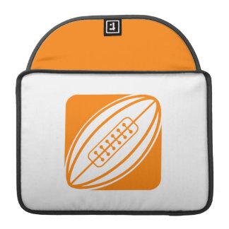 オレンジラグビー MacBook PROスリーブ