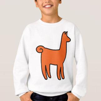 オレンジラマの服装 スウェットシャツ