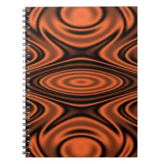 オレンジリングおよびさざ波 ノートブック