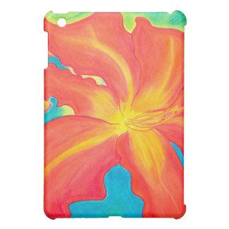 オレンジワスレグサ iPad MINI カバー