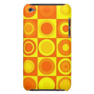 オレンジ円 Case-Mate iPod TOUCH ケース