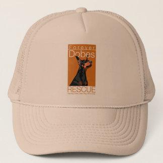オレンジ写実的な帽子 キャップ