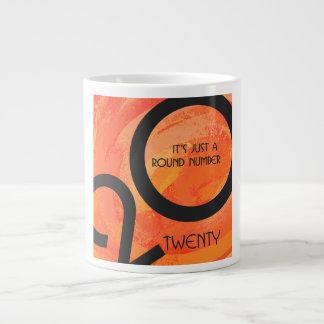 オレンジ十年Birthdday ジャンボコーヒーマグカップ