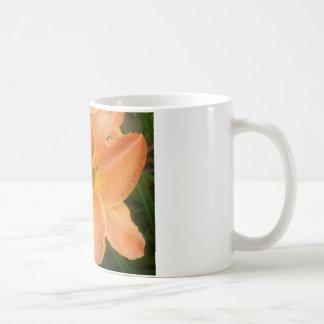 オレンジ夏Lilly コーヒーマグカップ