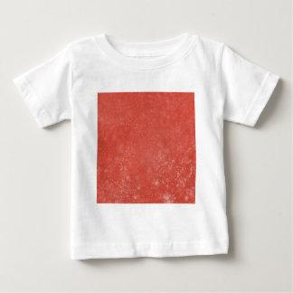 オレンジ大理石 ベビーTシャツ