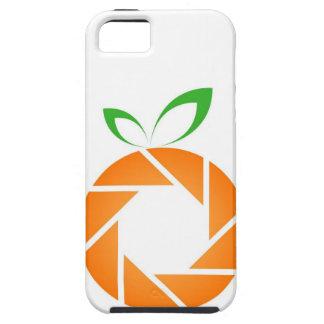 オレンジ定形開き iPhone SE/5/5s ケース