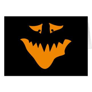 オレンジ恐い顔。 モンスター カード