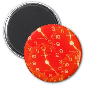 オレンジ文字盤 マグネット