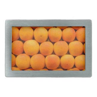 オレンジ新しい杏子のデザイン 長方形ベルトバックル