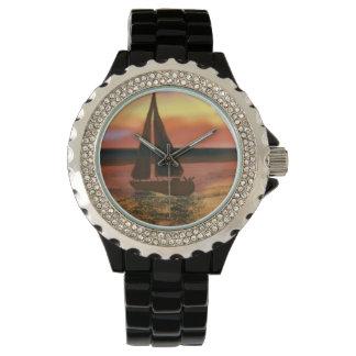 オレンジ日曜日の航海 腕時計