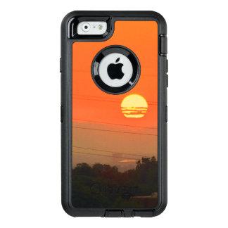 オレンジ日没のOtterboxのiPhone 6/6sの箱 オッターボックスディフェンダーiPhoneケース