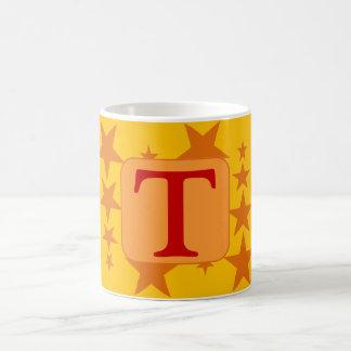 オレンジ星の手紙のマグ コーヒーマグカップ