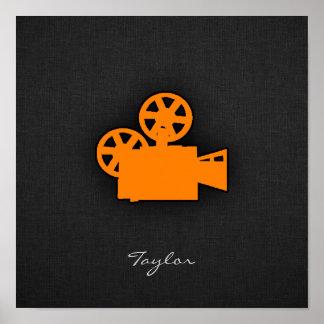 オレンジ映画用カメラ ポスター