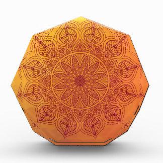 オレンジ曼荼羅 表彰盾