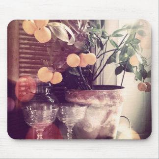 オレンジ木のマウスパッド マウスパッド