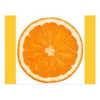 オレンジ柑橘類の郵便はがき ポストカード