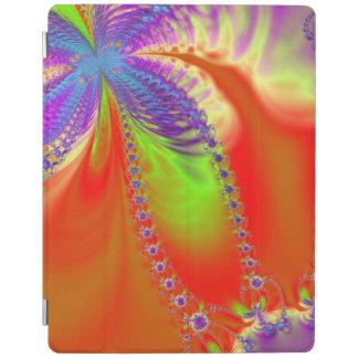 オレンジ歓喜のフラクタル iPadスマートカバー
