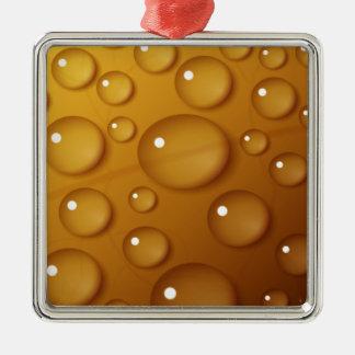 オレンジ水低下の質 メタルオーナメント