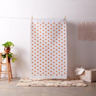 オレンジ水玉模様の芸術の技術の裁縫のキルティングの生地 ファブリック