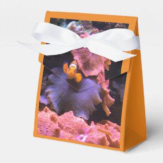 オレンジ水生生命ギフト用の箱 フェイバーボックス