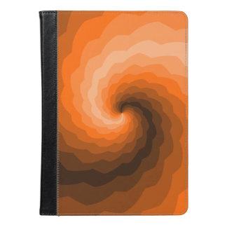 オレンジ波 iPad AIRケース