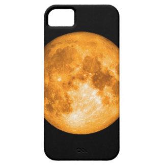 オレンジ満月 iPhone SE/5/5s ケース