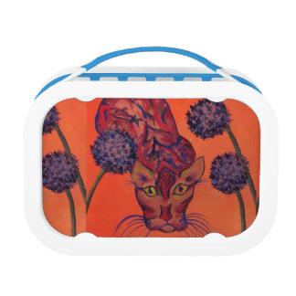オレンジ猫のお弁当箱 ランチボックス