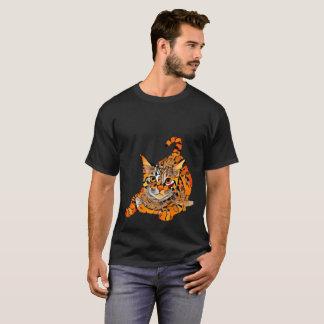 オレンジ猫 Tシャツ