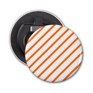 オレンジ白の栓抜きは縞で飾ります 栓抜き