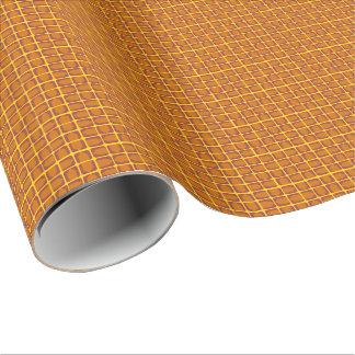 オレンジ矢の包装紙 ラッピングペーパー