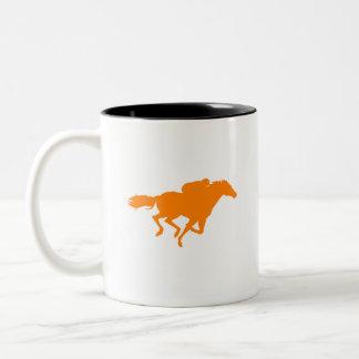 オレンジ競馬 ツートーンマグカップ