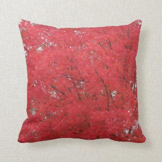 オレンジ紅葉の枕 クッション