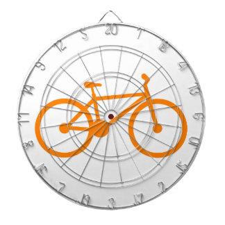 オレンジ自転車 ダーツボード
