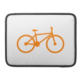 オレンジ自転車 MacBook PROスリーブ