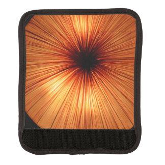 オレンジ色のライト ラゲッジ ハンドルラップ