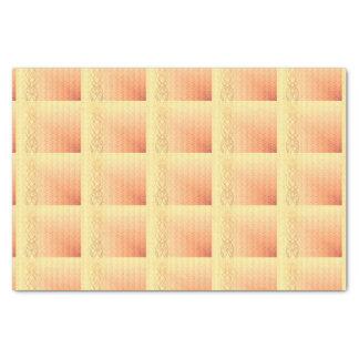 オレンジ色のライト 薄葉紙