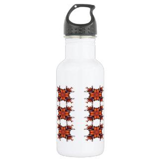 オレンジ花の弓 ウォーターボトル