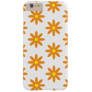 オレンジ花のiPhone6ケース Barely There iPhone 6 Plus ケース