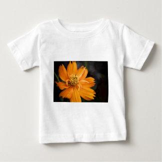 オレンジ花(ギフト) ベビーTシャツ