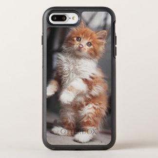オレンジ虎猫の子ネコ オッターボックスシンメトリーiPhone 8 PLUS/7 PLUSケース