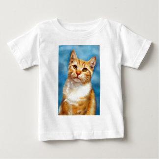オレンジ虎猫-ウィリアム ベビーTシャツ
